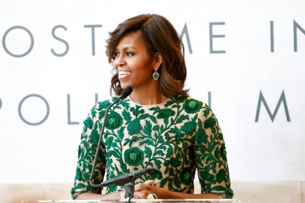 Michelle Obama green carpet - sustainable fashion.jpg