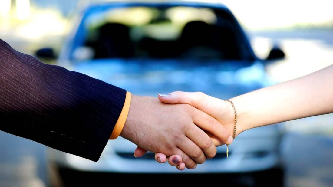 Selling a used car to a buyer