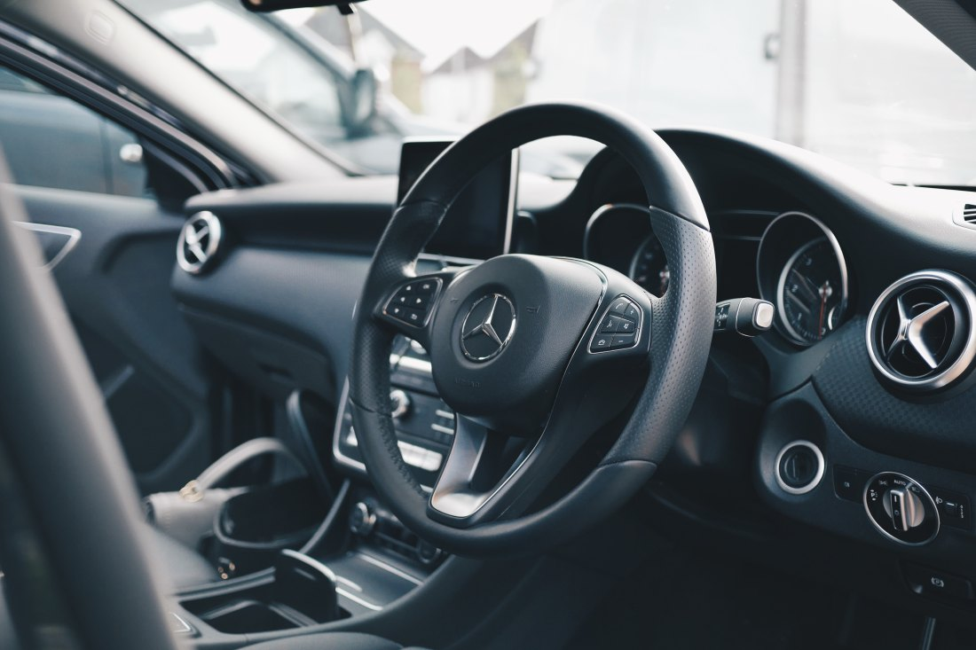 Picture of a car interior